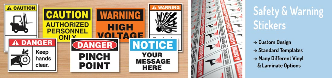 Safety & Warning Stickers